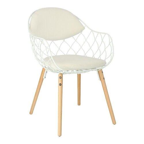 D2 Krzesło Jahi Białe