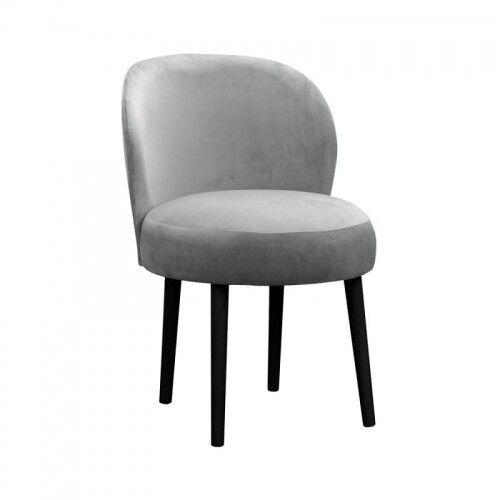 Das Krzesło jadalniane z okrągłym siedziskiem Angel