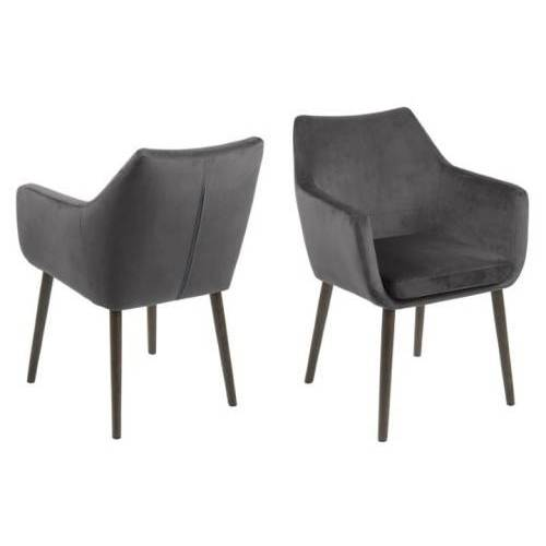 D2 Krzesło Nora VIC szare