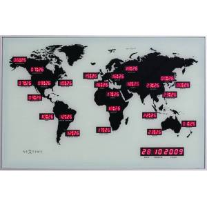 NEXTIME Zegar 2897 World Time Digit Nextime