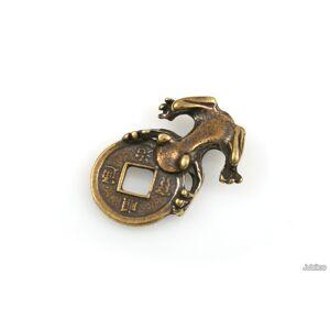Jubileo.pl FIGURKA ŻABA PORTFELOWA amulety talizmany