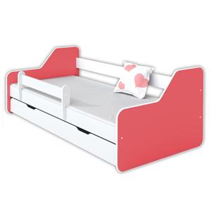 Łóżko dla dziecka z materacem DIONE II - różne kolory
