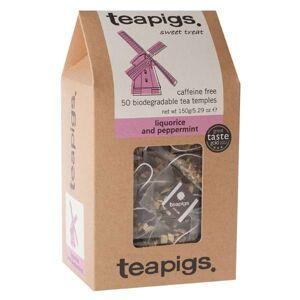 TEAPIGS Ziołowa herbata teapigs Liquorice & Peppermint 50x3g