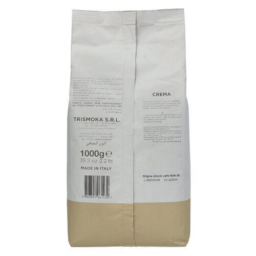 TRISMOKA Kawa ziarnista Trismoka Caffe Crema 1kg