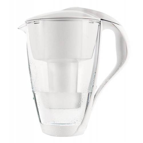 DAFI Szklany dzbanek filtrujący Dafi Crystal LED 2.0 L Biały + 1 Filtr