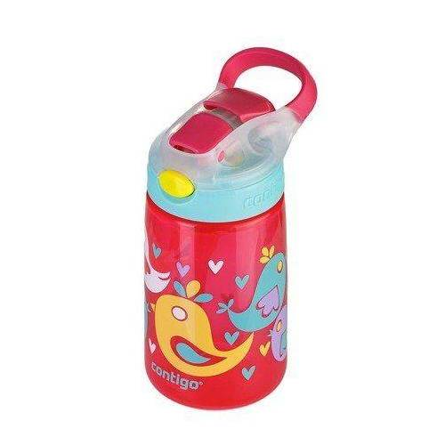 CONTIGO Butelka na wodę dla dzieci Contigo Gizmo Flip BIRDS 420 ml