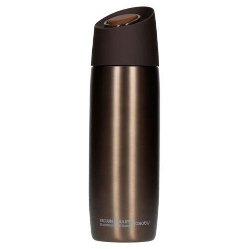 Asobu 5th Avenue Coffee Tumbler - brązowy kubek termiczny 390 ml