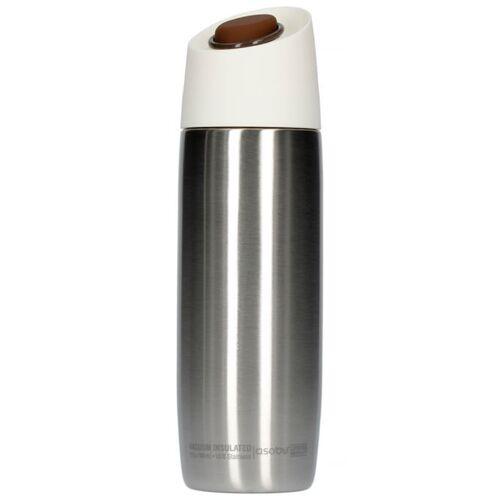 Asobu 5th Avenue Coffee Tumbler - srebrny kubek termiczny 390 ml