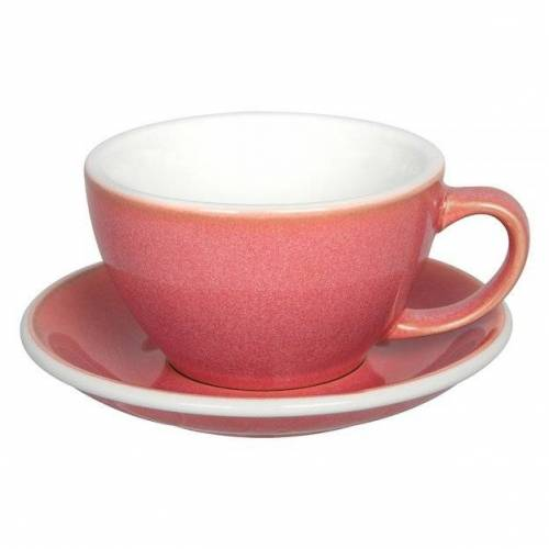 LOVERAMICS Filiżanka do latte Loveramics Egg 300 ml - Berry