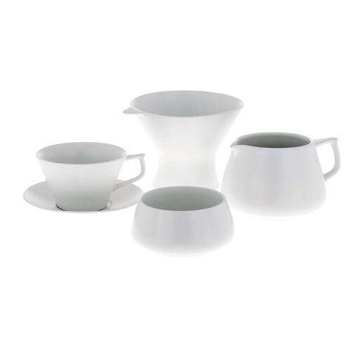 TIMEMORE Zestaw do parzenia kawy Timemore Tianmu White Giftset