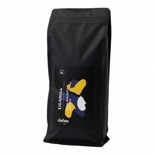 "Dobra palarnia kawy Kawa ziarnista Dobra palarnia kawy ""Uganda Mwezi"", 1 kg"
