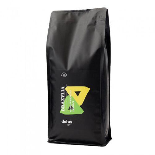 """Dobra palarnia kawy Kawa ziarnista Dobra palarnia kawy """"Brazylia"""" jasno palona, 1 kg"""