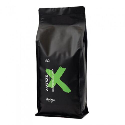 """Dobra palarnia kawy Kawa ziarnista Dobra palarnia kawy """"Zawsze"""", 1 kg"""