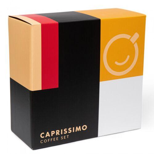 """Przyjaciele Kawy Zestaw kawy ziarnistej """"Caprissimo Box"""", 4 x 250 g"""