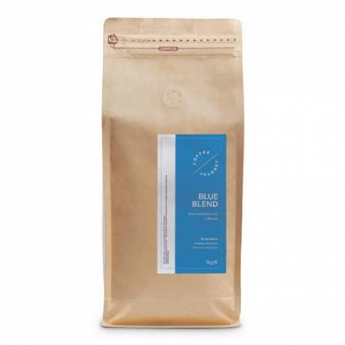 """Coffee Journey Kawa ziarnista Coffee Journey """"Blue Blend bezkofeinowa"""", 1 kg"""