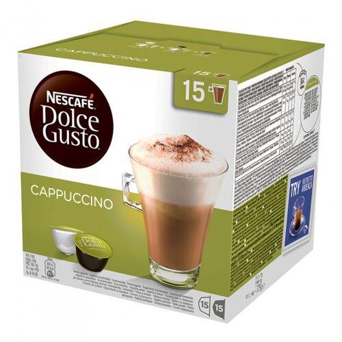 """NESCAFÉ® Dolce Gusto® Kawa w kapsułkach NESCAFÉ Dolce Gusto """"Cappuccino"""", 15+15 szt."""