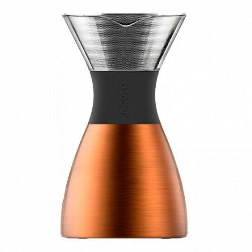 """Asobu Zaparzacz Asobu """"Pour Over Black/Copper 6 cups"""""""