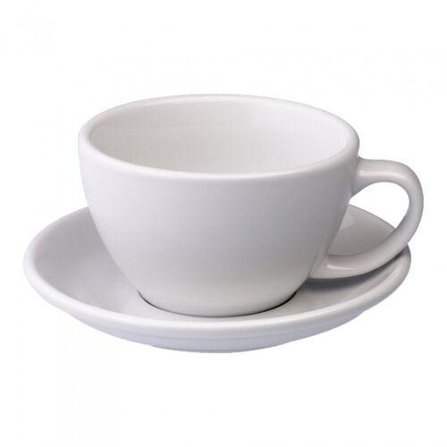 "Loveramics Filiżanka ze spodkiem Café Latte Loveramics ""Egg White"", 300 ml"