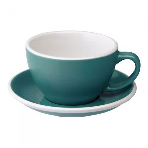 "Loveramics Filiżanka ze spodkiem Café Latte Loveramics ""Egg Teal"", 300 ml"