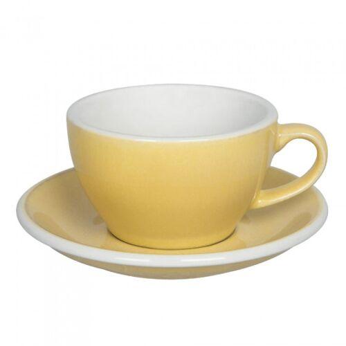 "Loveramics Filiżanka ze spodkiem cappuccino Loveramics ""Egg Butter"", 200 ml"