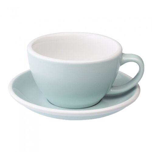 "Loveramics Filiżanka ze spodkiem Café Latte Loveramics ""Egg River Blue"", 300 ml"