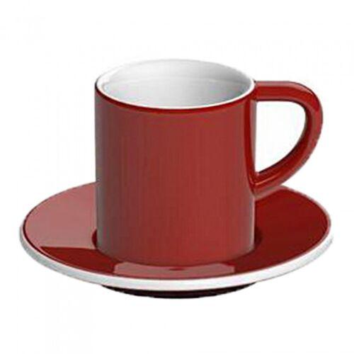 """Loveramics Filiżanka ze spodkiem espresso Loveramics """"Bond Red"""", 80 ml"""