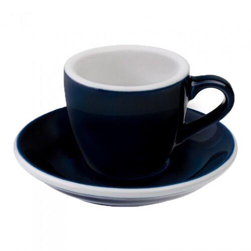 "Loveramics Filiżanka ze spodkiem espresso Loveramics ""Egg Denim"", 80 ml"
