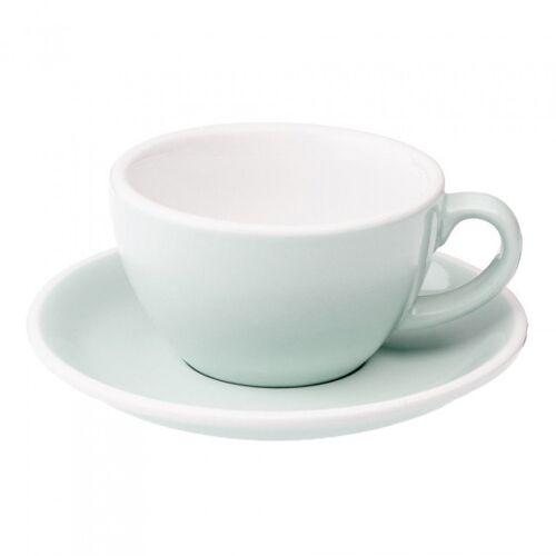 "Loveramics Filiżanka ze spodkiem cappuccino Loveramics ""Egg River Blue"", 200 ml"