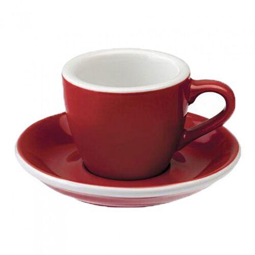 "Loveramics Filiżanka ze spodkiem espresso Loveramics ""Egg Red"", 80 ml"