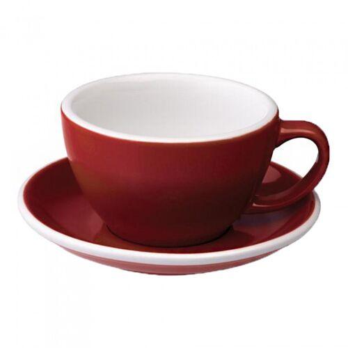 "Loveramics Filiżanka ze spodkiem Café Latte Loveramics ""Egg Red"", 300 ml"