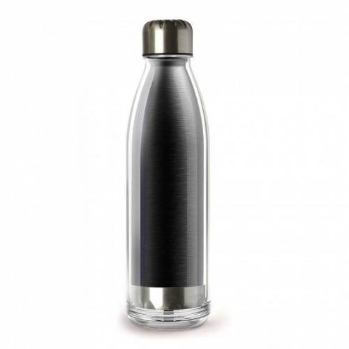 "Asobu Butelka termiczna Asobu ""Viva La Vie Black"", 530 ml"
