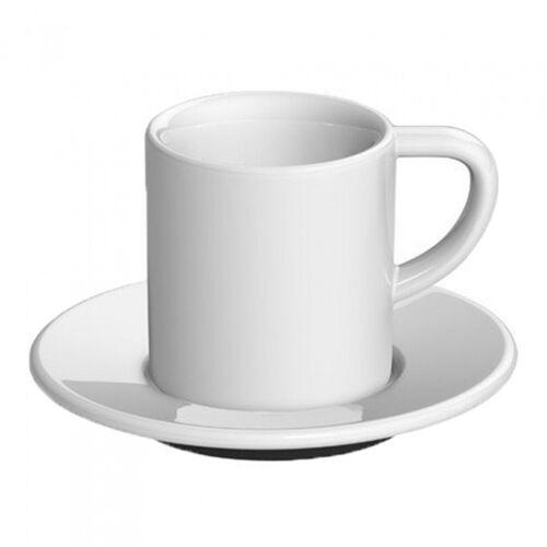 "Loveramics Filiżanka ze spodkiem espresso Loveramics ""Bond White"", 80 ml"