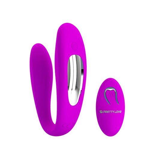 Pretty Love Zdalnie Sterowany Wibrator dla Par Letitia Różowy   100% DYSKRECJI   BEZPIECZNE ZAKUPY