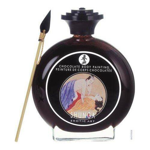 Shunga (CAN) Jadalna Farba do Ciała Shunga Bodypaint Chocolate  100ml   100% DYSKRECJI   BEZPIECZNE ZAKUPY