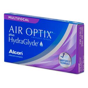 Air Optix plus HydraGlyde Multifocal (6 soczewek)