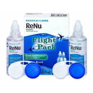 Płyn ReNu Multiplus flight pack 2 x 60 ml