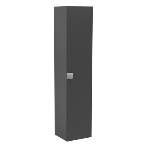 Oristo Bold szafka boczna wysoka 35x160x32 grafit połysk OR46-SB1D-35-5