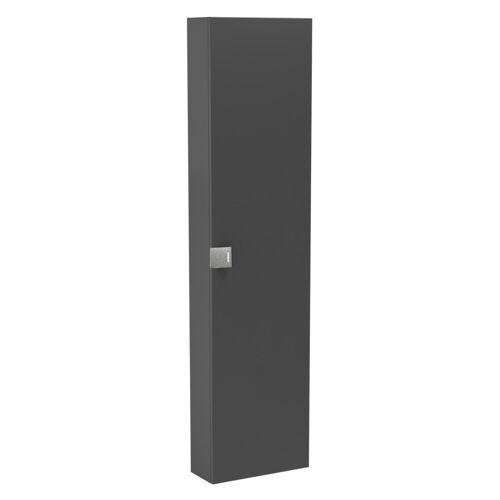 Oristo Bold szafka boczna wysoka 40x160x17 grafit połysk OR46-SB1D-40-5