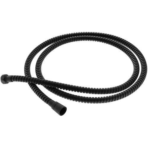 Kohlman wąż prysznicowy 150cm czarny mat WZ1EB