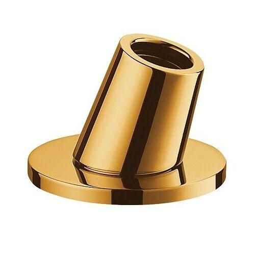 Omnires pierścień nawannowy z uchwytem na rączkę prysznicową złoty H14GL