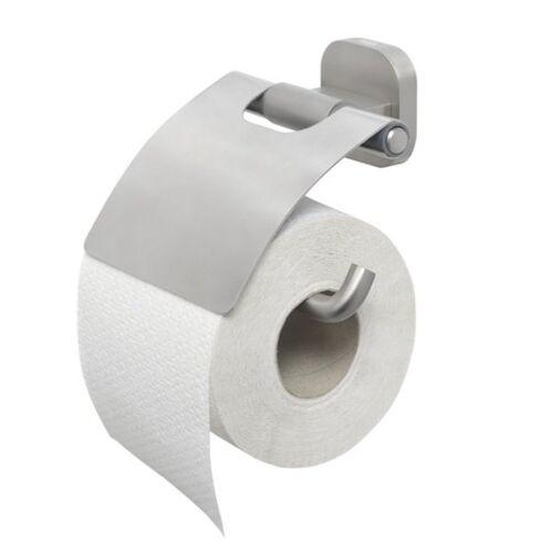 Tiger Ramos Uchwyt na papier toaletowy z klapką stal szczotkowana 13066.3.09.46