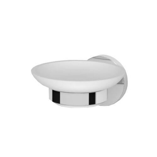 Oltens Gulfoss mydelniczka z uchwytem biała ceramika/chrom 84101000