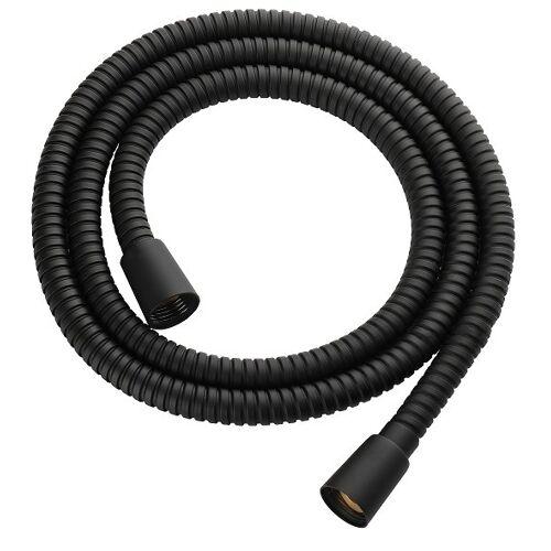 Omnires wąż prysznicowy 125 cm czarny 022-XBL