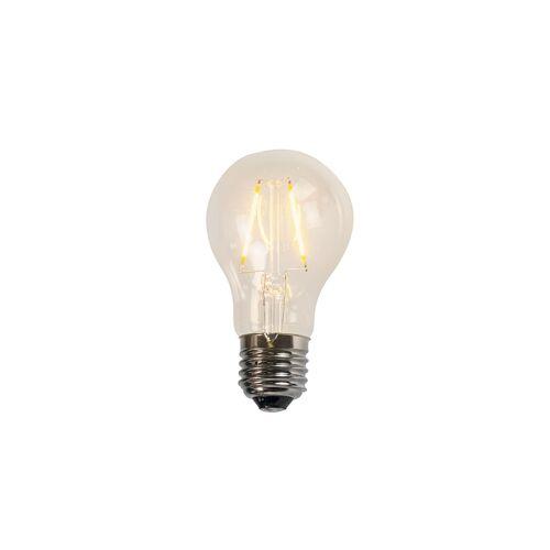 LUEDD Żarówka LED E27 A60 2W 2200K filament przezroczysta