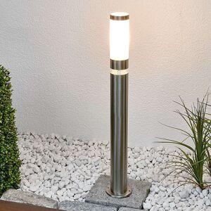 Lindby Nowoczesna lampa zewnętrzna stal nierdzewna 80 cm IP44 - Binka