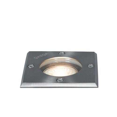 QAZQA Stal punktowa szlifowana 10,5 cm IP65 - Basic Square
