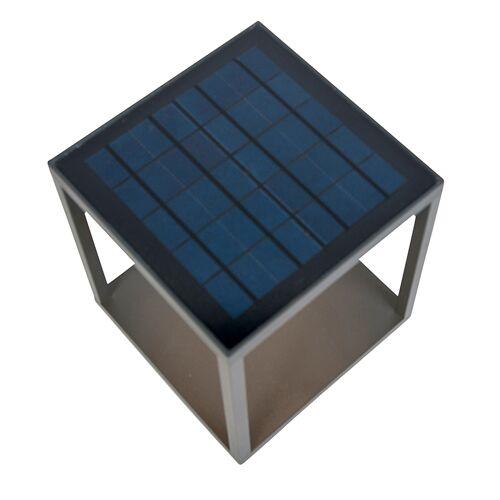 QAZQA Lampa zewnętrzna z kolektorem słonecznym, czujnikiem ruchu i wyłącznikiem zmierzchowym - Volendam