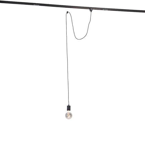 QAZQA Lampa wisząca z zawieszeniem szynowym - Cavalux