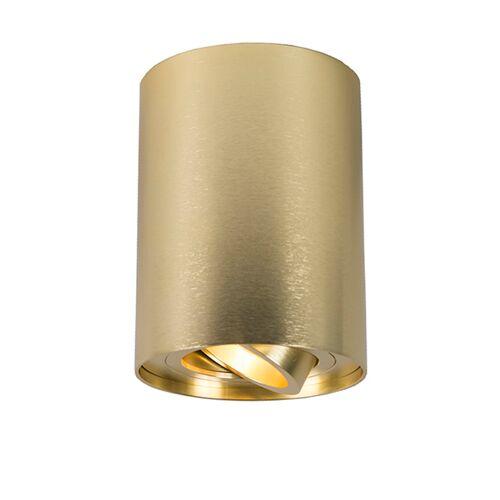 QAZQA Spot obrotowy złoty - Rondoo 1 up