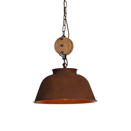 QAZQA Przemysłowa lampa wisząca rdza - Bax